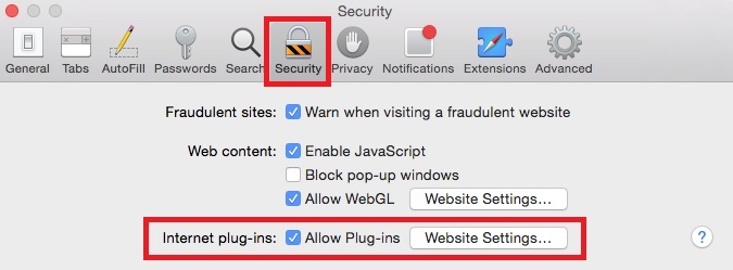Some silverlight functionalities are blocked in safari sandbox.