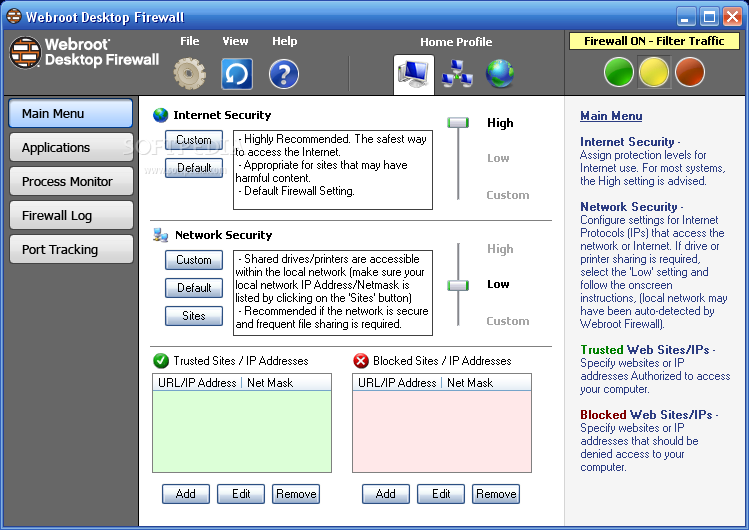 how to set avast firewall to allow hp printer