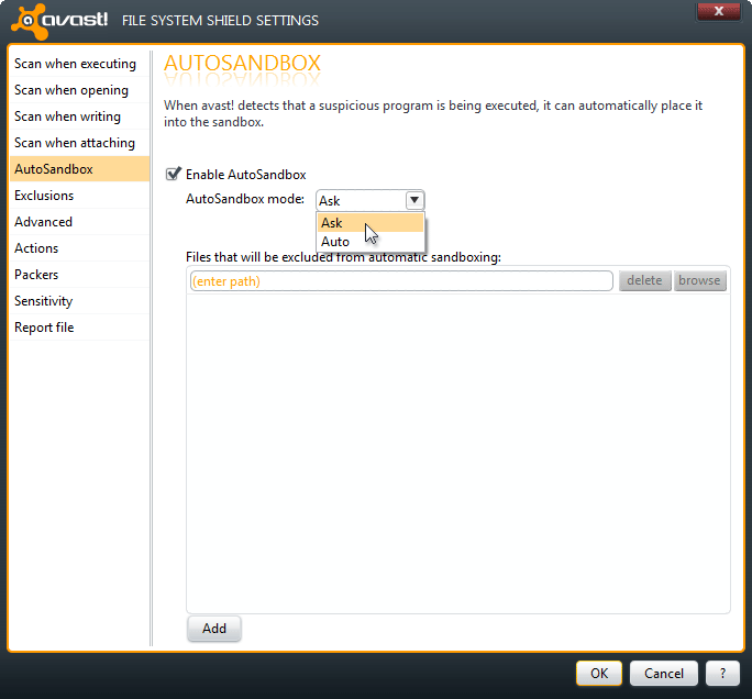 how to enable avast game mode